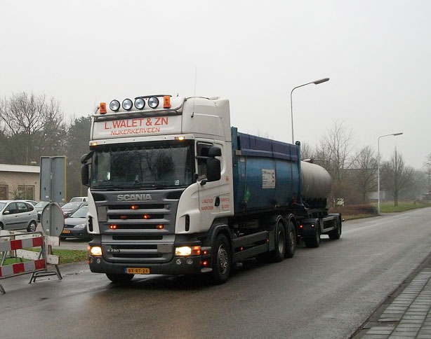 Container transport Harderwijk