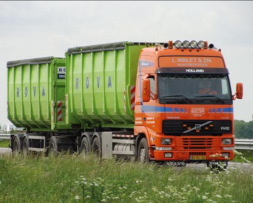 Container vervoer putten