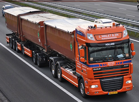 Vracht container transport amersfoort