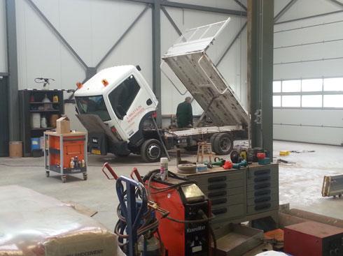 Vrachtwagen onderhoud nijkerk